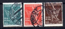 Serie   Nº  258/60   Yugoslavia - 1931-1941 Reino De Yugoslavia