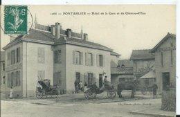 PONTARLIER - Hôtel De La Gare Et Du Château D'eau - Pontarlier