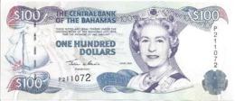 BAHAMAS P67 100 DOLLARS 2000 VF QUEEN EII - Bahamas