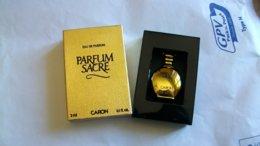 "Miniature De Parfum Caron  "" Parfum Sacré ""  Eau De Parfum - Miniaturen Damendüfte (mit Verpackung)"