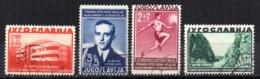 Serie   Nº  322/5   Yugoslavia - 1931-1941 Reino De Yugoslavia