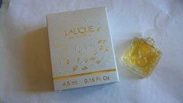 """Miniature De Parfum Lalique   """" Pour Femme """"  Eau De Parfum Nouvelle Boite - Mignon Di Profumo Moderni (a Partire Dal 1961)"""