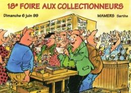 Malo LOARN  MAMERS (Sarthe) 6 Juin 99 18e Foire Aux Cllectionneurs Cochons Humanisés RV - Collector Fairs & Bourses