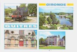 Gironde        H327        GUITRES ( 4 Vues ) , Dont Locomotive - France