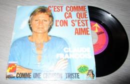 Claude François–C'est Comme Ça Que L'on S'est Aimé - Vinyl-Schallplatten