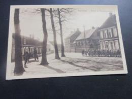 Seevergem, School En Gemeenteplaats - De Pinte