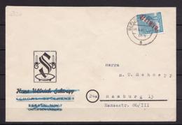 BERLIN MiNr 26 ROTAUFDRUCK EF BERLIN-NIKOLASSEE Nach Hamburg 4.6.1949 - Cartas