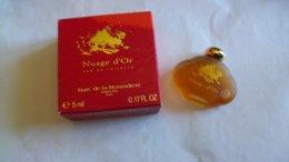 """Miniature De Parfum Marc De La Morandière    """" Nuage D'Or  """"  Eau De Toilette - Mignon Di Profumo Moderni (a Partire Dal 1961)"""