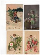 20 Oude Wenskaarten Met Kindjes,meeste Geschreven En Afgestempeld Begin 1900 - 5 - 99 Cartoline