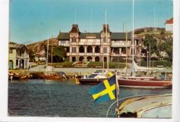 """Sweden, LYSEKIL, Socitetssalongen: """"Sasen"""" Med Parti Av Seglarhamnen, 1973 Used Postcard [23496] - Sweden"""
