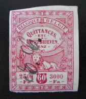 TIMBRE FISCAL 1911 - PH BEL002 - NON-DENTELE - Revenue Stamps