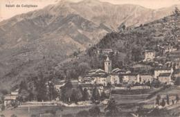 """M08628 """" SALUTI DA CUTIGLIANO """"  -CART. ORIG.  SPED. 1937 - Italia"""
