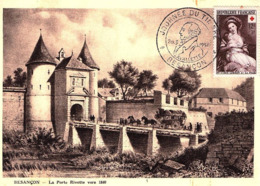 ( 9-47 )   Carte Journée Du Timbre Avec Timbre  N° 966-20.03.1954 - 1960-69