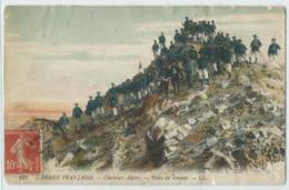 L'armée Francaise Chasseurs Alpins - Manovre