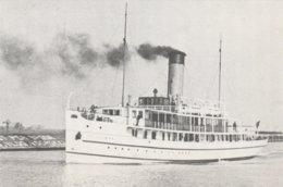 Veerdienst Enkhuizen-Stavoren , Stoomschip C Bosman - Ferries