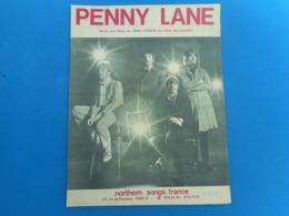 """Partition De Piano """"Penny Lane"""" The Beatles - Musique & Instruments"""