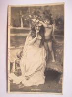 PRINTEMPS   -  FEMME ET  ENFANT          PHOTO  MANUEL        CRAQUELURE  BAS D. - Mujeres