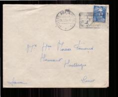 Enveloppe En Franchise Militaire Du 29 Mars 1954 Pour Montargis - Storia Postale