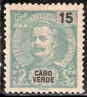 Cabo Verde, 1903, # 77, MH - Islas De Cabo Verde
