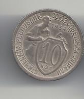 10 Kopeken 1934 Russland. - Russland