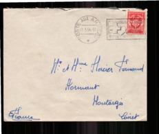 Enveloppe En Franchise Militaire Du 17 Mai  1954 Pour Montargis - Storia Postale