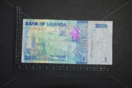Billet, OUGANDA, 2000 Shillings 2010 Bank Of Ouganda - Ouganda