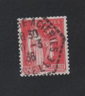N° 283d 50 C Paix Roulette IIB Oblitéré Lot 1 - 1932-39 Peace