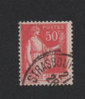 N° 283d 50 C Paix Roulette IIB Oblitéré Lot 2 - 1932-39 Peace