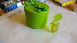 """Miniature De Parfum Balmain    """" Vent Vert """" Parfum Dans Boite A Chapeau Verte - Miniaturen Damendüfte (mit Verpackung)"""