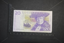Billet, SUEDE, 20 Kronor Selma Lagerlof Non Daté - Schweden