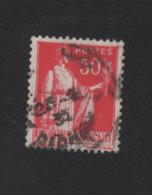N° 283d Double Impression 50 C Paix Roulette IIB Oblitéré Lot 3 - 1932-39 Peace