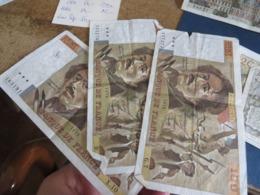 LOT DE 6 Billets FRANCAIS - France