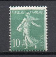 - FRANCE N° 188B Neuf ** MNH - 10 C. Vert Semeuse Camée 1924-26, Inscriptions Maigres - Cote 60 EUR - - 1906-38 Semeuse Camée