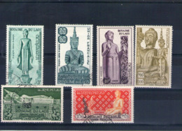 Laos. Poste Aérienne. Cérémonie Annuelle Du Grand Serment Lao - Laos