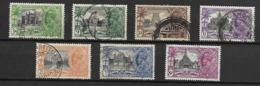 INDE  Anglaise     -     1935 .   Y&T N° 136 à 142 Oblitérés.   Série Complète . - 1911-35 King George V