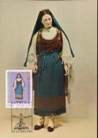47208 Finland, Maximum 2001, Costume Trachten, Crusades Period, - Maximum Cards & Covers