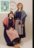 47209 Finland, Maximum 1986, Costume Trachten, - Maximum Cards & Covers