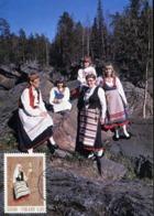 47211 Finland, Maximum 1981, Costume Trachten, - Maximum Cards & Covers