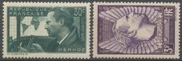 En Souvenir De L'aviateur Jean Mermoz (1901-1936) Et De Ses Compagnons De L'hydravion Neuf Luxe ** Y338S - Nuovi