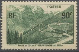 Ouverture De La Route Du Col De L'Iseran. 90c. Vert Foncé Neuf Luxe ** Y358 - Nuovi