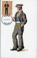 47215 Finland, Maximum 1986, Costume Trachten, - Maximum Cards & Covers