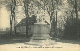 23 - Boussac - Jardin Public Et Statue De Pierre Leroux - Boussac