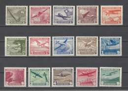 CHILI.  YT  PA  N° 53/67  Neuf *  1941-42 - Chili
