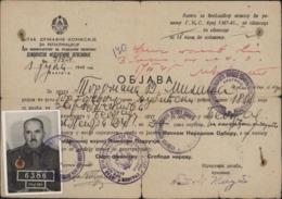 Guerre 39 45 Carte Rapatriement Prisonnier Français OFLAG XIIIB Weiden Deloste P114 Zone Russe Sovétique - WW II
