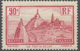 Le Puy-en-Velay. 90c. Rose-lilas Neuf Luxe ** Y290 - Nuovi