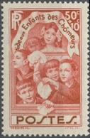 Au Profit Des Enfants Des Chômeurs. 50c. + 10c. Rouge-brique Neuf Luxe ** Y312 - France