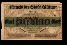 Allemagne Billet De 5000000 Marks - [ 3] 1918-1933: Weimarrepubliek