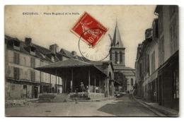 EXCIDEUIL (24) - Place Bugeaud Et La Halle - PRIX FIXE - France