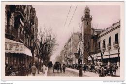 TUNIS:  AVENUE  DE  CARTHAGE  ET  PALMARIUM  -  PHOTO  -  FP - Tunisia