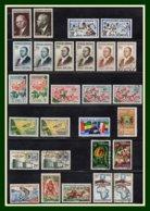 Collection + 110 Timbres Stamps Gabon Postes PA Taxe ** Et Obl 5 Scans (forte Cote à étudier, à Profiter ! ) - Timbres
